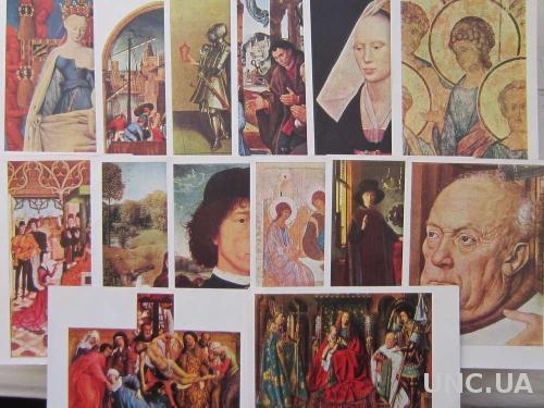 Набор открыток Живопись 15 века