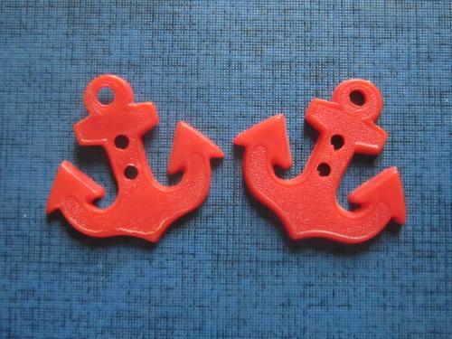 Петличные знаки юных моряков якорь 2 штуки