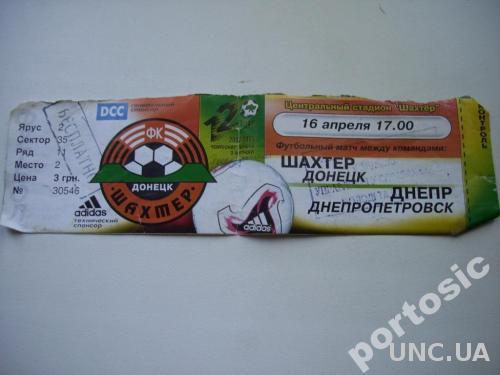 Шахтёр-Днепр 2003 Чемпионат Украины
