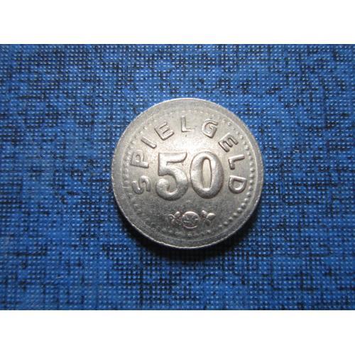Жетон игральный Spielgeld 50 игровые деньги 15 мм