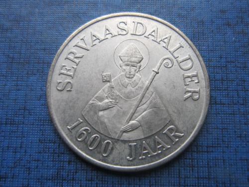 Жетон памятный SERVAASDAALDER 1984 1600 лет смерти епископа Маастрихтского Святого Серватия 30 мм