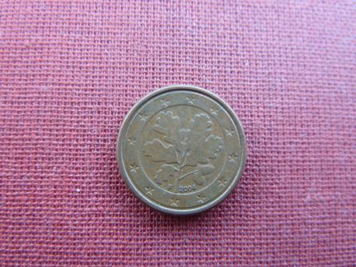 1 евроцент  2004г.