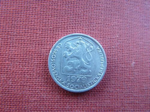10 геллеров 1979г. Чехословакия  ЧССР