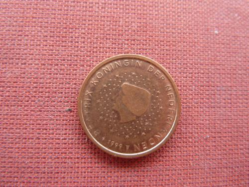 2 евроцента 1999г.Нидерланды