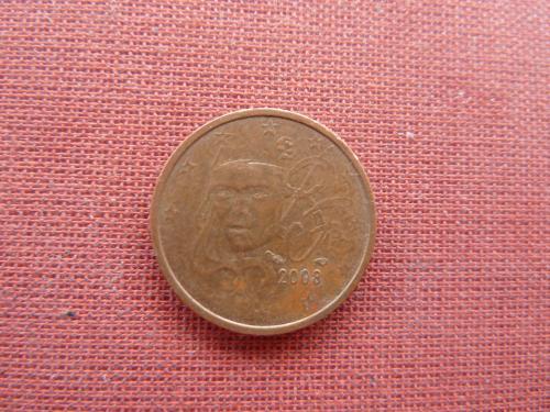 2 евроцента 2003г. Франция