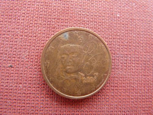 2 евроцента 2008г. Франция