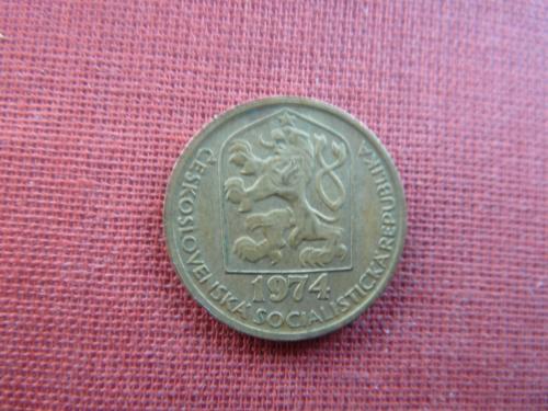 20 геллеров 1974г. Чехословакия  ЧССР