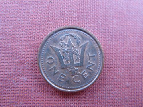 Барбадос 1 цент  1985г.