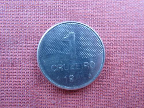 Бразилия 1 крузейро 1981г.