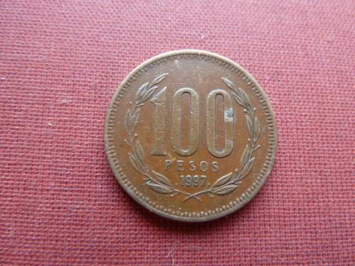 Чили 100 песо 1997г.