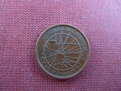 Эквадор 1 сентаво 2003г.
