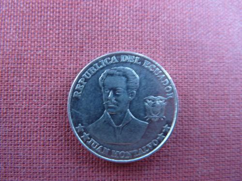 Эквадор 5 сентаво 2003г.