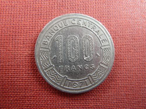 Камерун 100 франков 1971г.