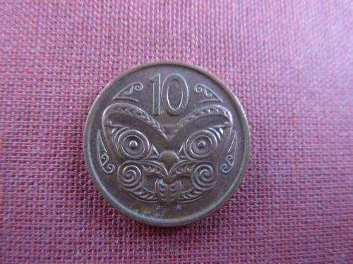 Новая Зеландия 10 центов 2006г.