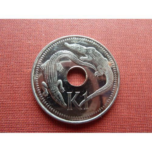 Папуа- Новая Гвинея 1 кина 2004г. UNC