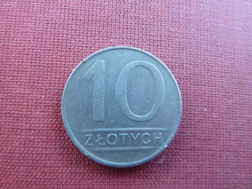 Польша 10 злотых  1987г