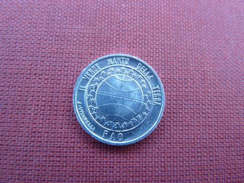 Сан-Марино 1 лира 1977г.UNC