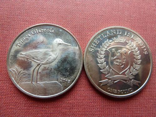 Шетландские острова 1 фунт 2015г. Шотландия