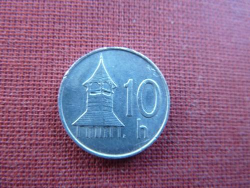 Словакия 10 геллеров 1993г.