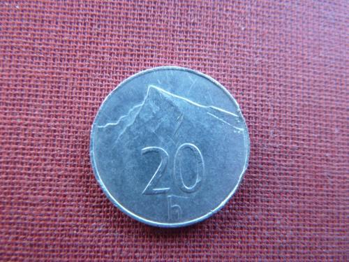 Словакия 20 геллеров 1999г.