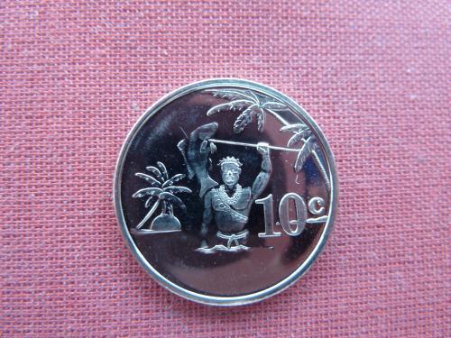 Токелау 10 центов  2012г. UNC редкие