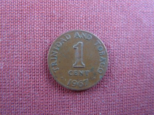 Тринидад и Тобаго 1 цент 1967г.