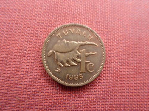 Тувалу 1 цент 1985г