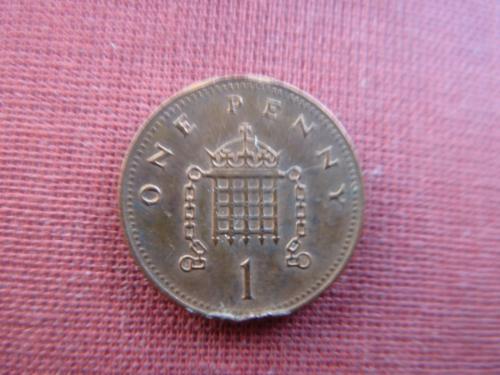 Великобритания 1 пенни 2006г.