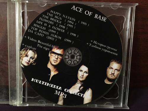 Ace of base CD multimedia collection mp3 1993-2002