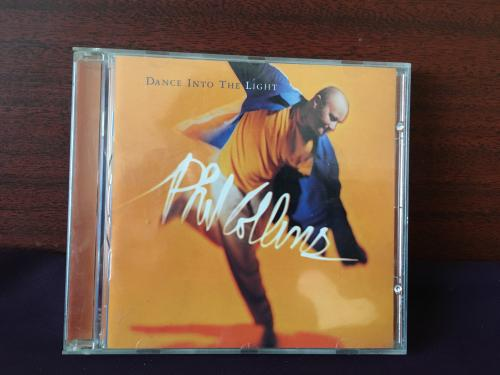 CD-Phil Collins ‎– Dance Into The Light--Canada