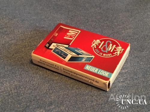 Немецкий коробок спичек.