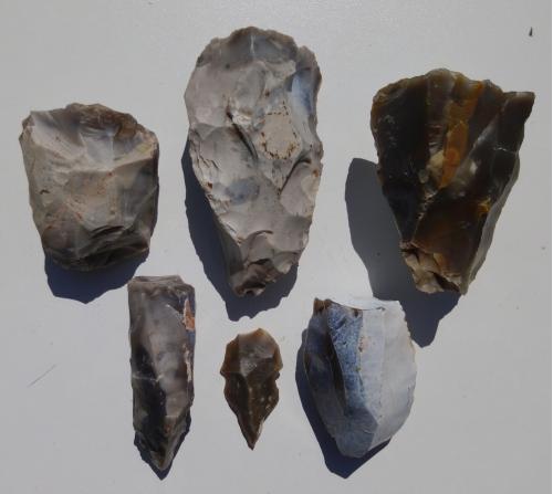 Мои находки .коллекция каменного века