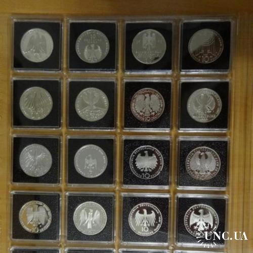 Лист Leuchtturm ENCAP для монет в капсулах QUADRUM 52*52 mm
