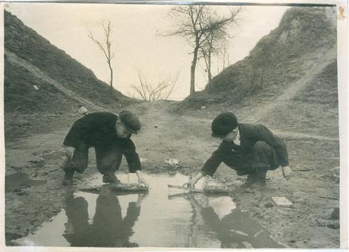 Фото художественное Дети Мальчик СССР Украина Винтаж Мода Art Photo artistic Children USSR Ukraine