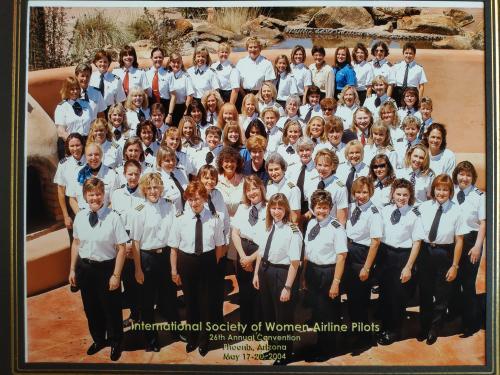Фото Международное общество женщин пилотов Аризона  2004 год Аэрофлот Транспорт Форма Самолёт