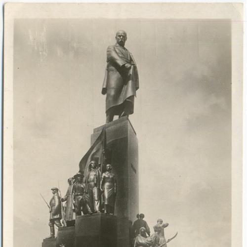 Харьков Памятник Шевченко Изд. Укрфото 1935 год Украина СССР