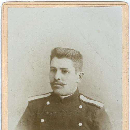 Кабинетное фото Военный Униформа Империя