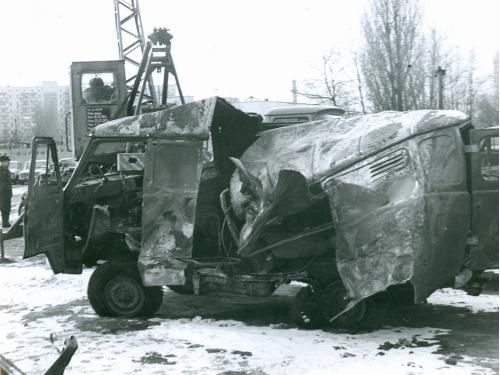 Киев ДТП Дорожно транспортное проишествие ГАИ 1970-е годы