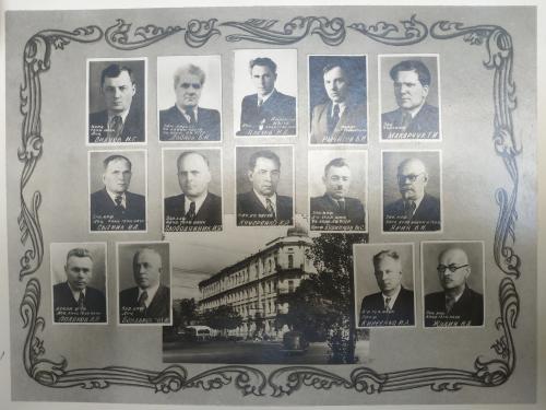 Киев Инженерно строительный институт Выпуск 1954 год Ленин Сталин альбом Украина СССР