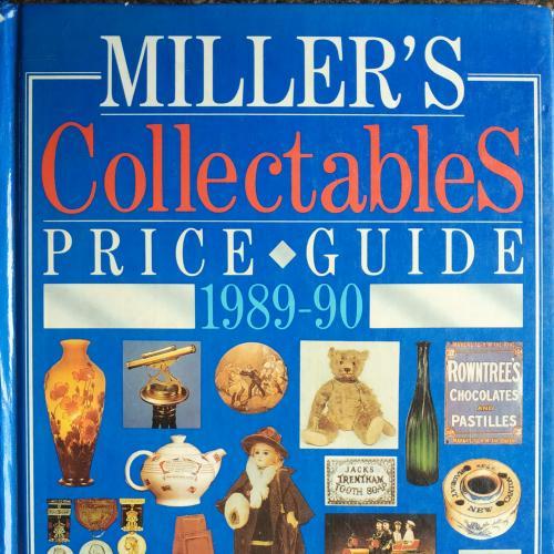 Миллер Каталог цен предметов коллекционирования 1989-1990 год Miller's collectables prise guide