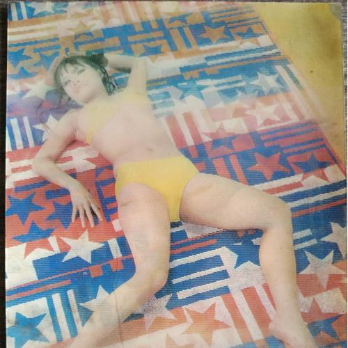Переливающаяся стерео открытка Эротика Ню Девушка Япония