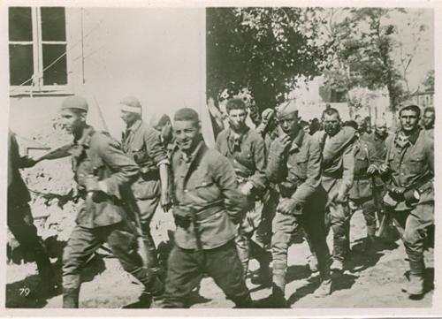 Третий Рейх Вторая мировая война Германия  Оккупация Вермахт Солдаты Фельдпост Фото