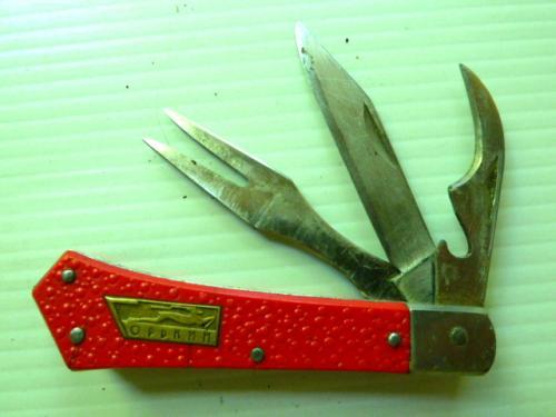 Нож складной времен СССР