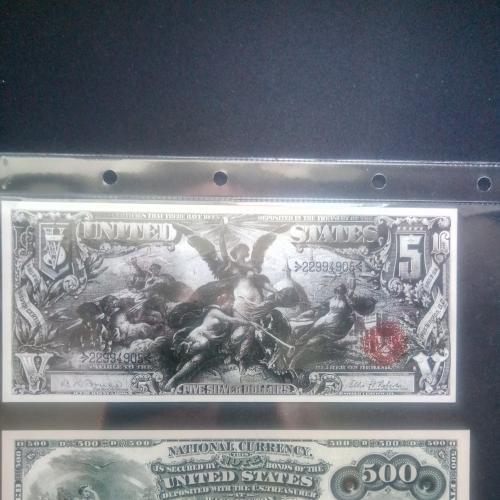США  доллар набор