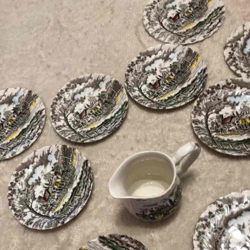 Винтажная посуда от royal mail