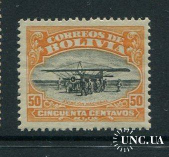 Боливия 1924 год Чистая ** Самолет Авиация