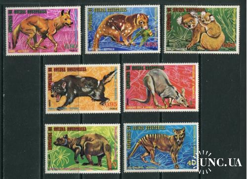 Экваториальная Гвинея Серия ** Фауна № 4