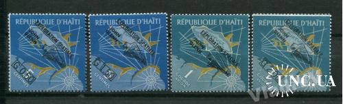Гаити 1962 год Серия ** Космос