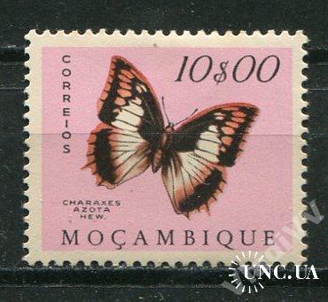 Порт. Мозамбик 1953 Чистая * Бабочки Фауна 10-