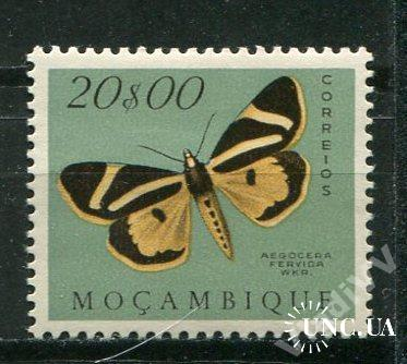 Порт. Мозамбик 1953 Чистая * Бабочки Фауна 20-